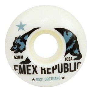 RODA EMEX 53MM REPUBLIC 102A DUO