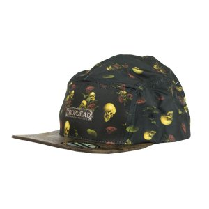 BONÉ DROP DEAD FIVE PANEL STRAPBACK TRUE PULSE