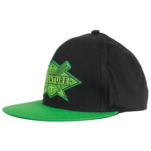 BONÉ CREATURE ARROWS BLACK SNAPBACK