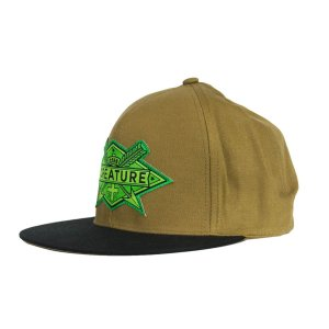 BONÉ CREATURE ARROWS BROWN SNAPBACK