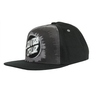 BONE SANTA CRUZ SMOKE TIE DOT-GRAY SNAPBACK