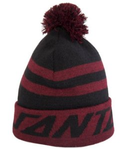 GORRO SANTA CRUZ STRIP PUFF VINHO