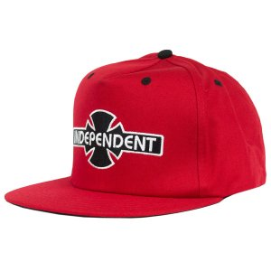 BONÉ INDEPENDENT O.G.B.C RED SNAPBACK