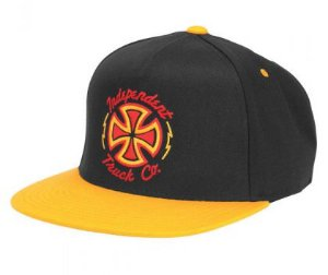 BONÉ INDEPENDENT VOLTAGE ORANGE SNAPBACK