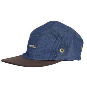 BONÉ CHILD FIVE PANEL HEALERS BLUE
