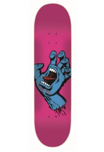 SHAPE SANTA CRUZ MAPLE SCREAMING HAND PINK