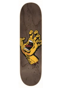 SHAPE SANTA CRUZ MAPLE SCREAMING HAND YELLOW BROWN