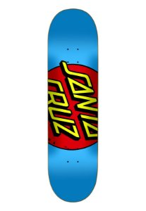 SHAPE SANTA CRUZ BIG DOT BLUE