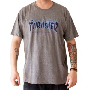 CAMISETA THRASHER PURPLE FLAME