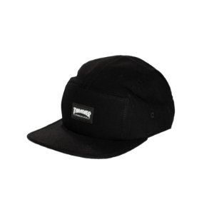 BONÉ THRASHER MAGAZINE FIVE PANEL BLACK