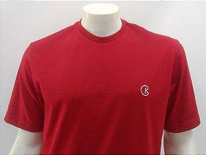 Camiseta Masculina Vermelho Rubi CK Cekock