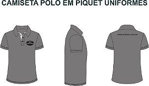 Uniformes Polo Masculina e Feminina Personalizada Kit 12 Pecas