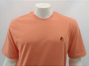 Camiseta Masculina Pessego Lobo Cekock
