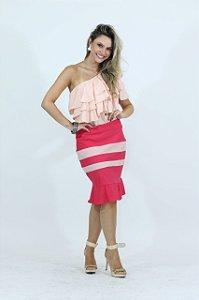 Saiaria Rosa e Pink