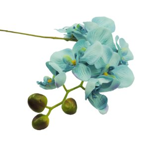 Haste de Orquídea 10cm x 95cm Premium Azul