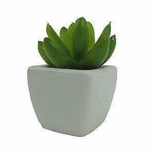 Cacto no Vaso Louça - 9cm