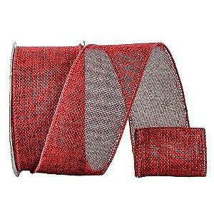 Fita Dec. Vermelha - 6,2 cm x 9,15 m