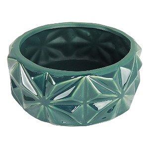 Vaso Cerâmica Azul Petróleo