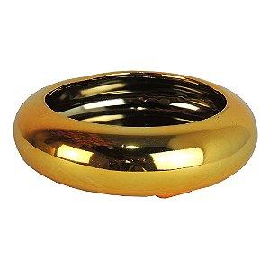 Vaso Cerâmica Dourado - 5,5cm