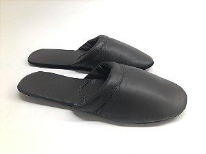 Chinelo luva para os pés couro legítimo Marrom