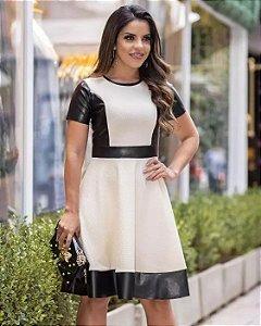 Vestido Midi Sofia Moda Evangélica