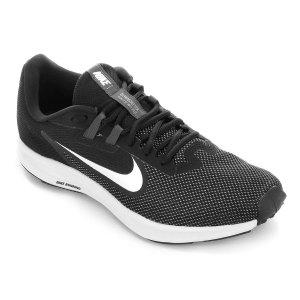 Tênis Nike Downshifter - 9 Masculino - Preto E Branco