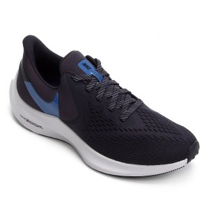 Tênis Nike Zoom Winflo 6 Masculino - Azul