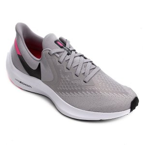Tênis Nike Zoom Winflo 6 Masculino - Cinza e Preto