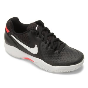 Tênis Nike Air Zoom Couro Resistance Masculino - Preto e Gelo