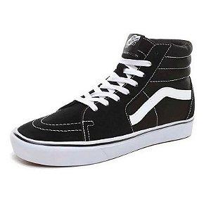 Tênis Vans Sk8-Hi Comfycush Preto E Branco