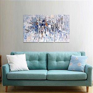 Conjunto 3 Peças Abstrato Moderno Arte Design