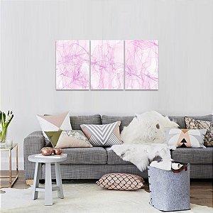 Conjunto 3 Peças Abstrato Moderno Design decorativo
