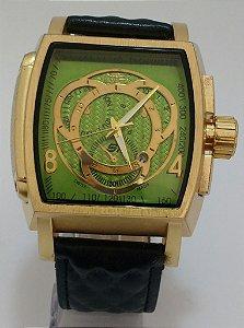 Relógio Invicta S1 couro masculino