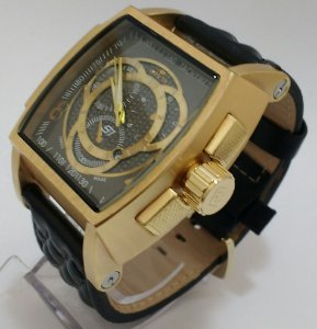 Relógio Invicta couro masculino