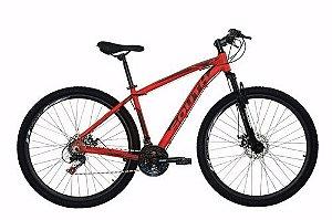 Bicicleta SOUTH Legend Aro 29 21V Vermelho - Tam. 17