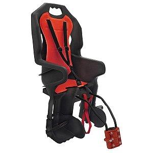 Cadeira POLISPORT Dusky FF V29 Preto/Vermelho