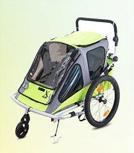 Carrinho Bebê Reboque DAX BB Verde