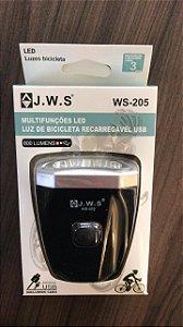 Farol USB Mini com 5 Leds - WS-205
