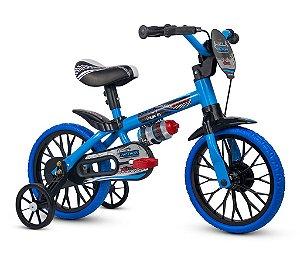 Bicicleta NATHOR Veloz Aro 12 Azul