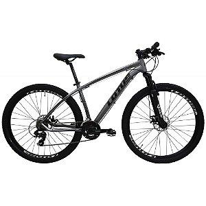 Bicicleta LOTUS Mec Aro 29 21V Cinza/Preto - Tam. 19