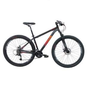 Bicicleta RAVA PRESSURE Aro 29 24V Preto/Vermelho - Tam. 17