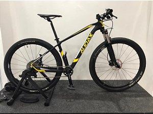 Bicicleta AUDAX Auge 20 Carbono Aro 29 Preto/Amarelo Tam. 17