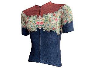 Camisa MARELLI Feminina Laser Floral Blue Azul Tam - P