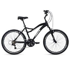Bicicleta RAVA BOLT Aro 26 21V Preto/Cinza