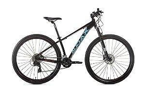 Bicicleta AUDAX Havok TX Aro 29 24V Preto/Azul - Tam. 17