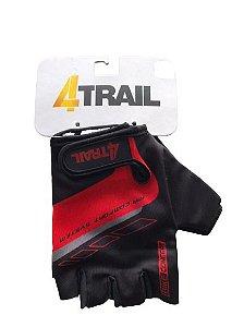 Luva 4TRAIL Transverse Vermelho - Tam. P