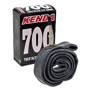 Câmara de Ar KENDA 700x18/23C C/ Válvula Presta 48mm