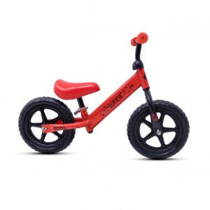Bicicleta RAVA Balance Infantil Aro 12 Vermelho/Preto