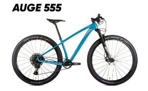 Bicicleta AUDAX Auge 555 SX 1x12 Aro 29 Azul - Tam. 17