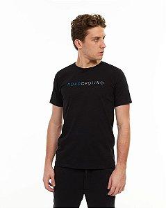 Camiseta SENSE Masculina Roadcycling Preto - Tam. M